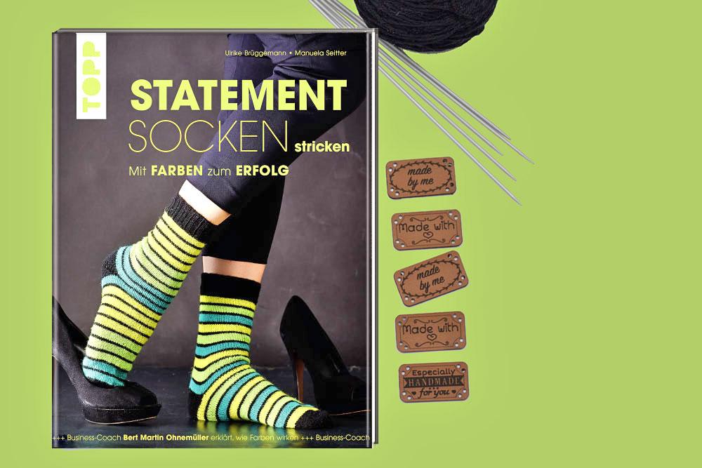 sockshypeSockenstrickenKAL - Du kannst drei Sockenbücher aus dem Frechverlag gewinnen.