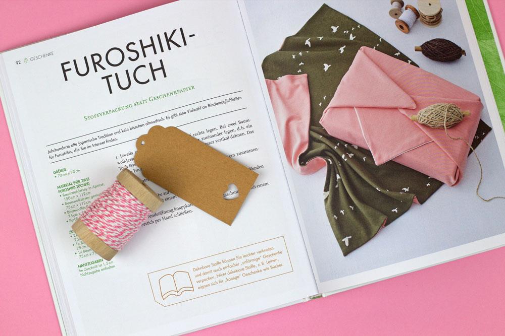 Das ZERO WASTE Nähbuch - Furoshiki-Tuch