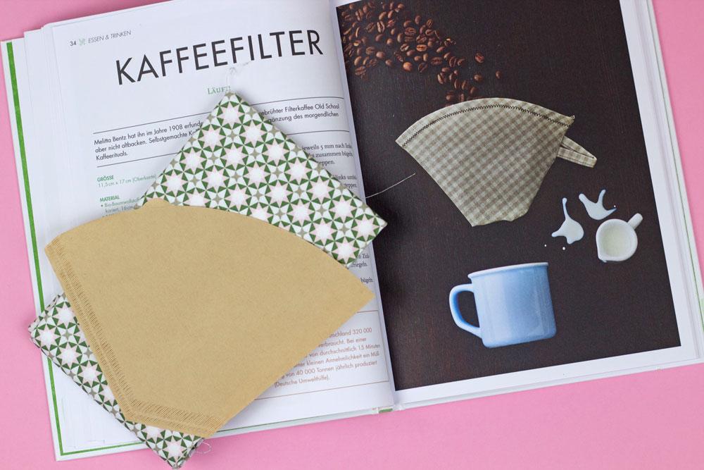 Das ZERO WASTE Nähbuch - Kaffeefilter