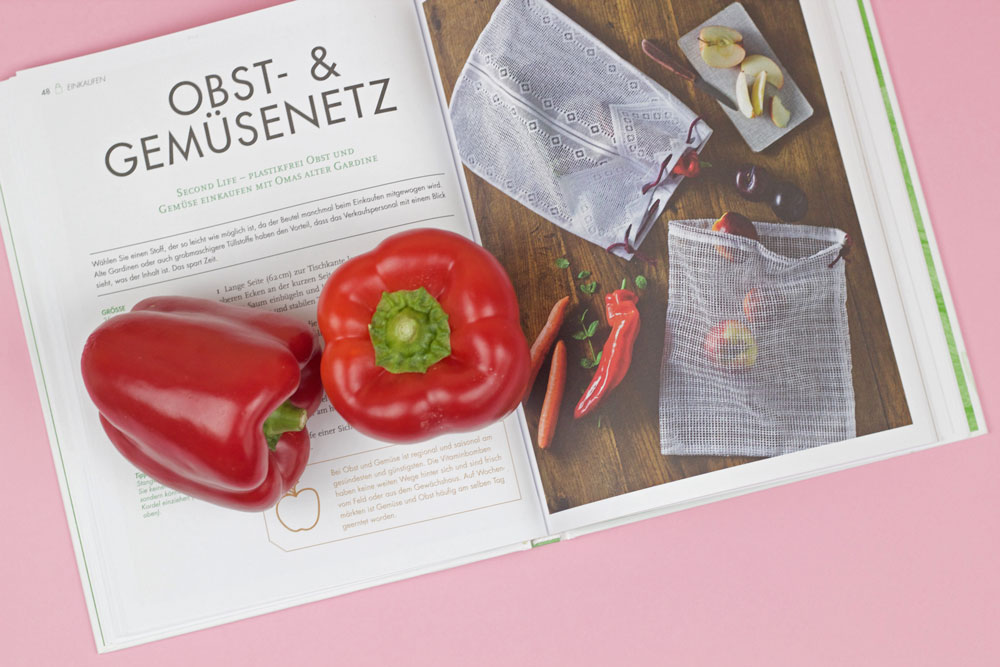 Das ZERO WASTE Nähbuch - Obst- und Gemüsenetz aus einer alten Gardine