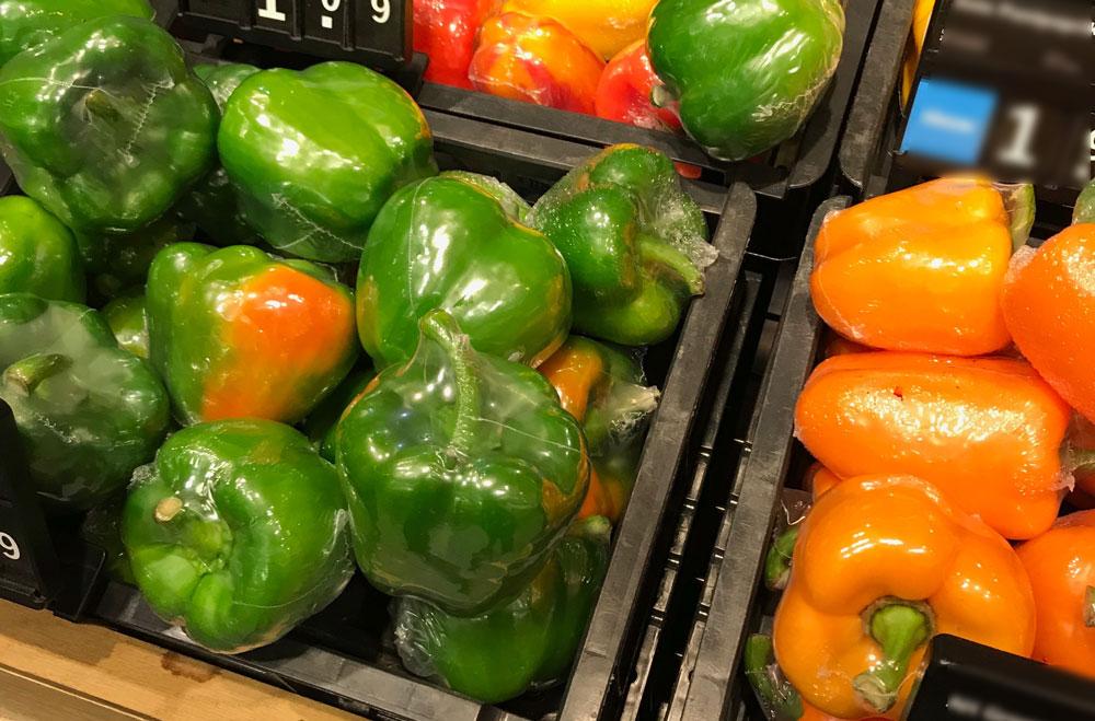 Das ZERO WASTE Nähbuch - Paprika in Plastik eingepackt
