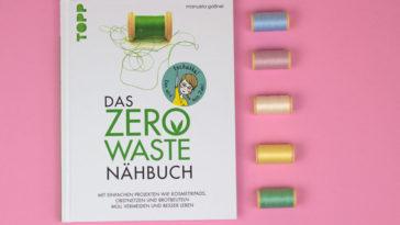 Das ZERO WASTE Nähbuch - Titelbild