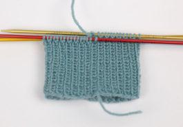 Sockenbündchen stricken