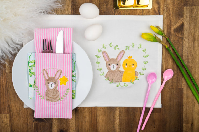 Stickdateien Ostern für deine Stickmaschine