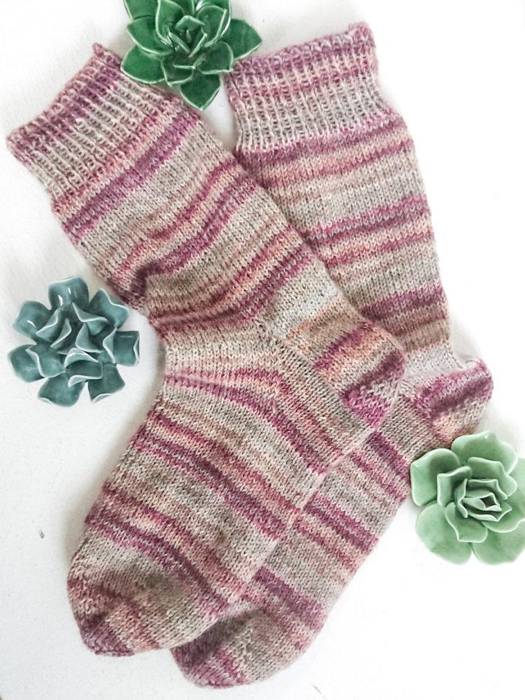 Meine neue Superkraft: Socken stricken!