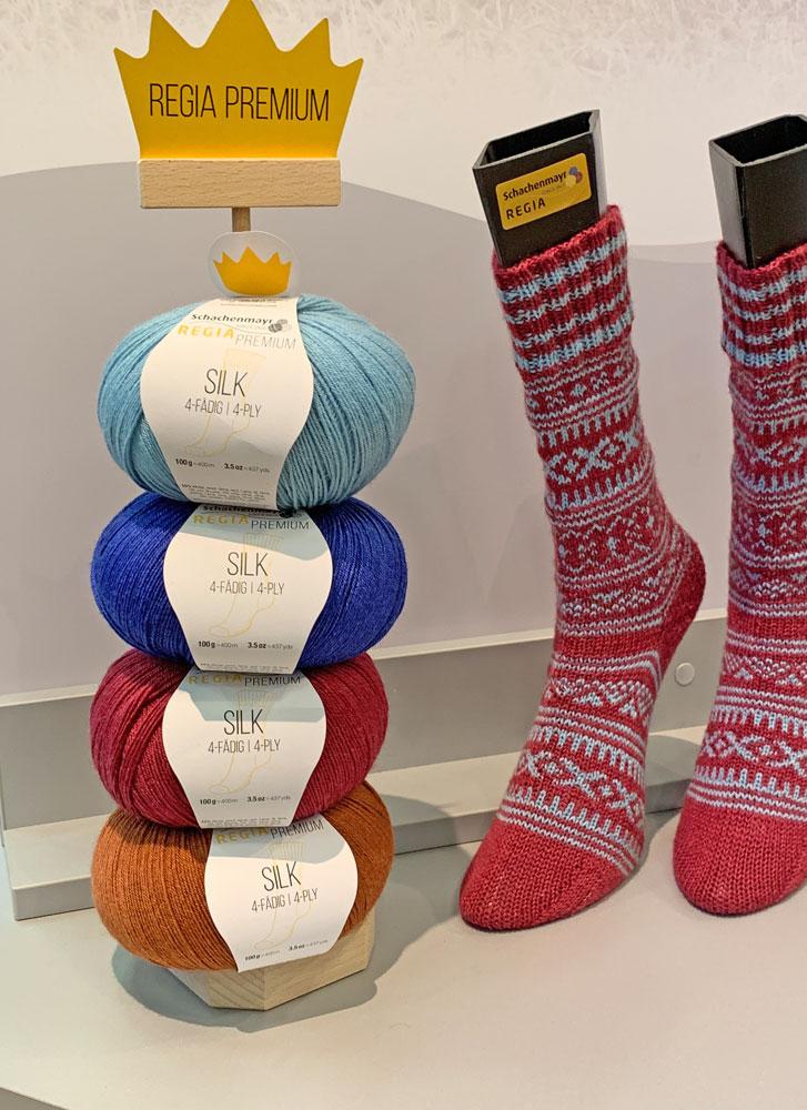 Vier neue Farben für Regia Premium Silk