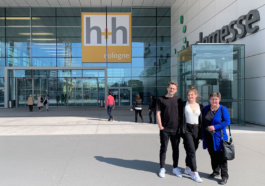 h+h cologne 2019 - Mark Marit Barbara vor der Messe