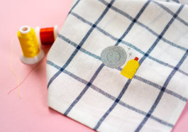 Handtücher besticken