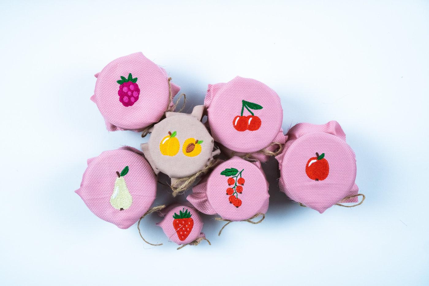 Obstmotive für deine Marmelade