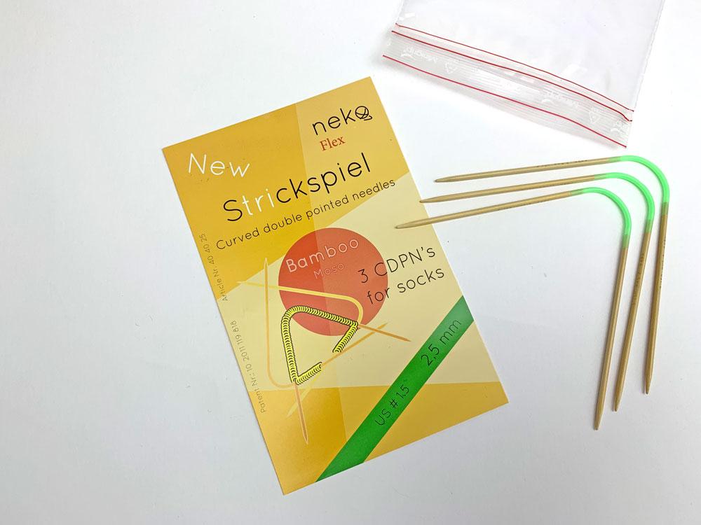 Socken stricken mit dem Neko Bambus Flex ist nicht schwer.