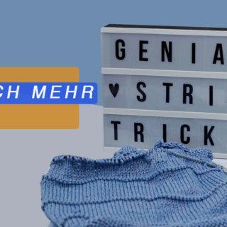 Strickhacks - Titelbild