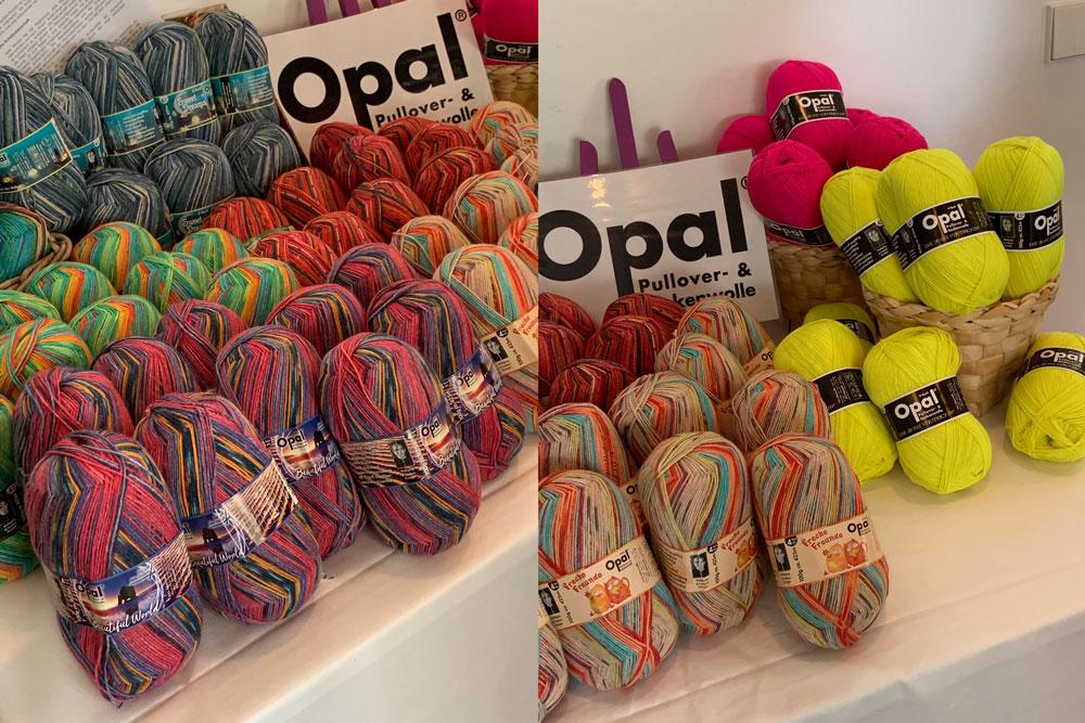 Tag der Wolle _ Opal auf dem Tag der Wolle