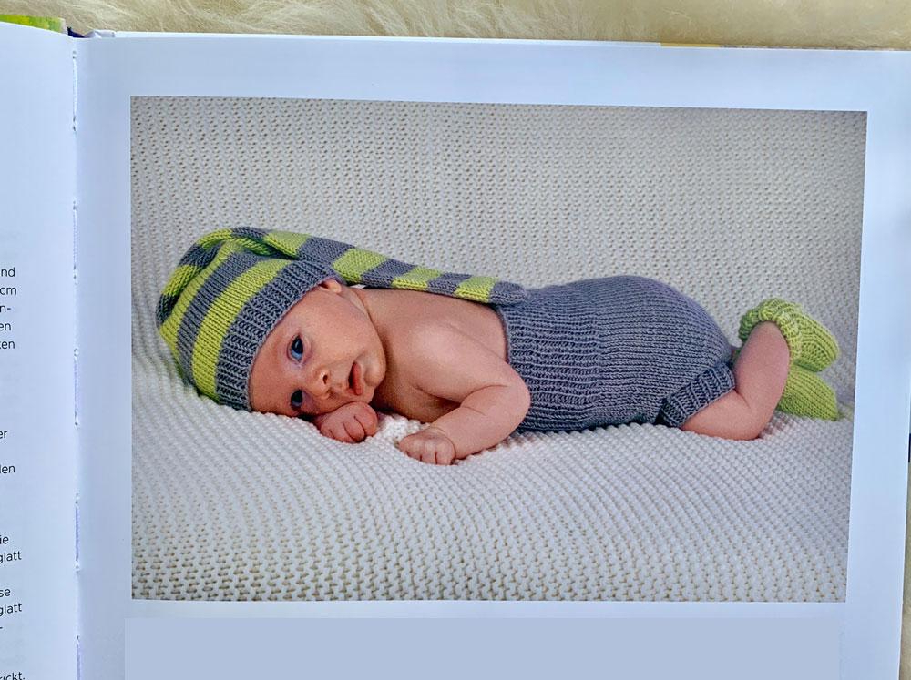 Baby-Sachen stricken - Neugeborenenset