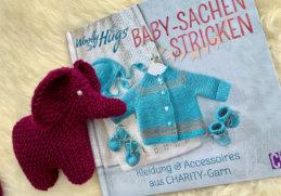 Baby-Sachen stricken - Titelbild mit Elefant