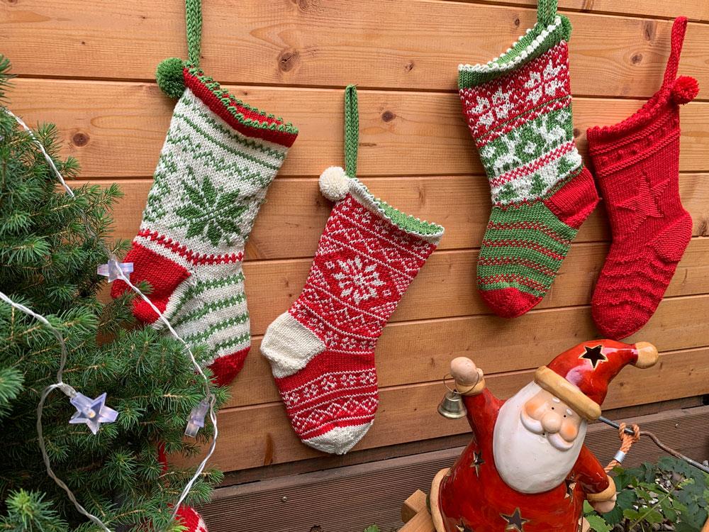 Weihnachten im Strumpf