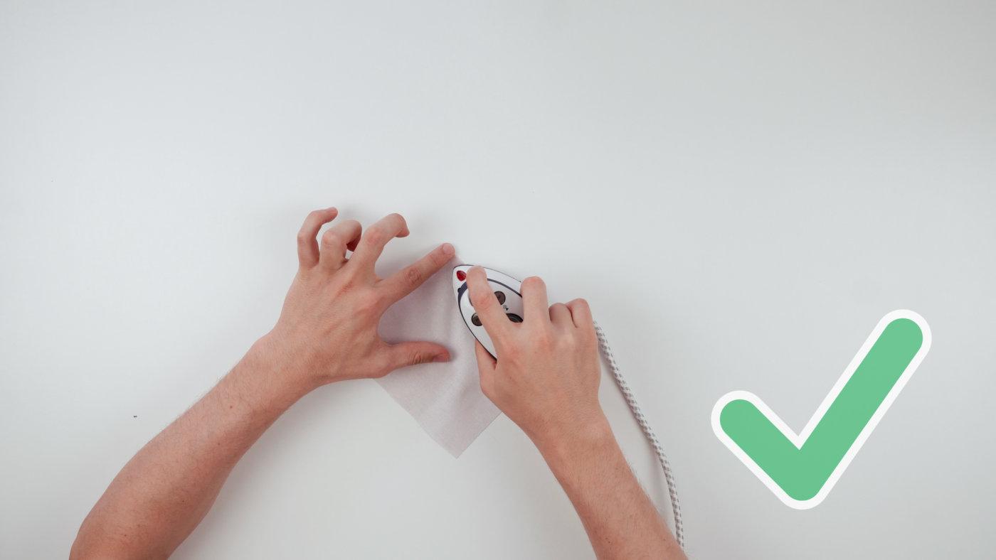 Vorteile Mini Bügeleisen beim Nähen