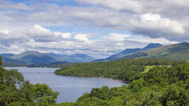 Loch Lomond Schottland
