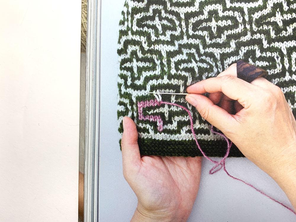 Määh! Finnisches Design gestrickt und bunt bestickt - Sticken