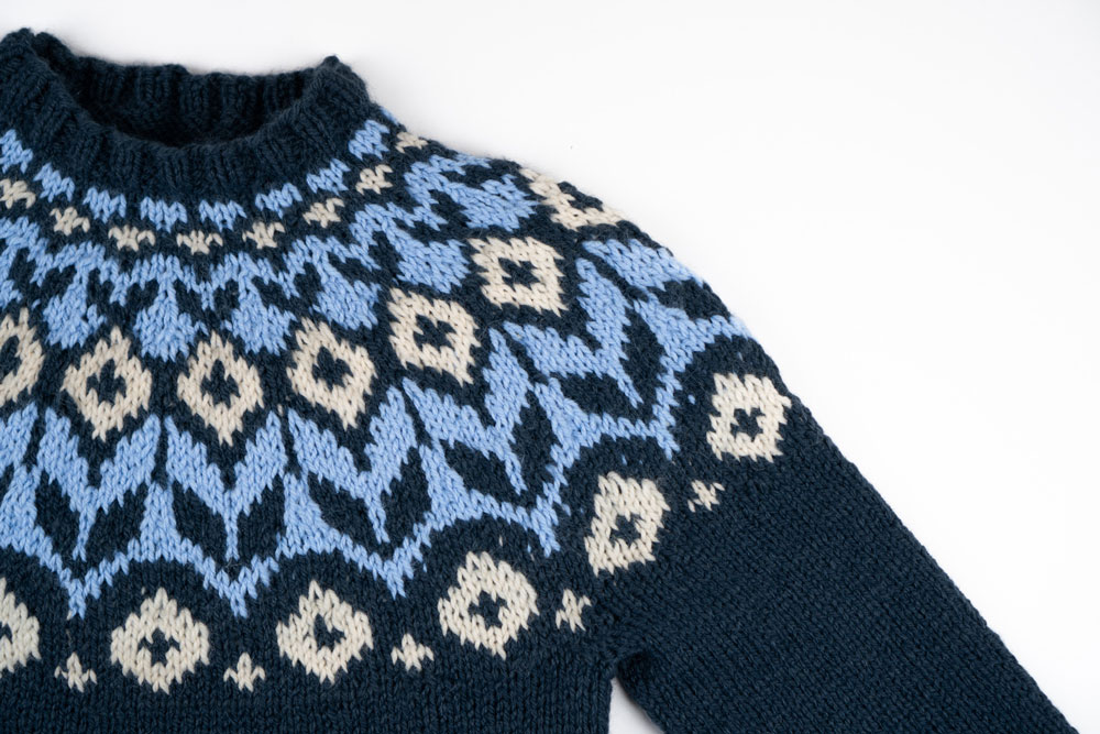 Norwegerpullover stricken