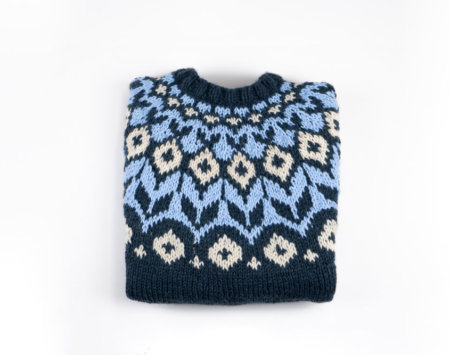 Norwegerpullover stricken mit Rundpasse