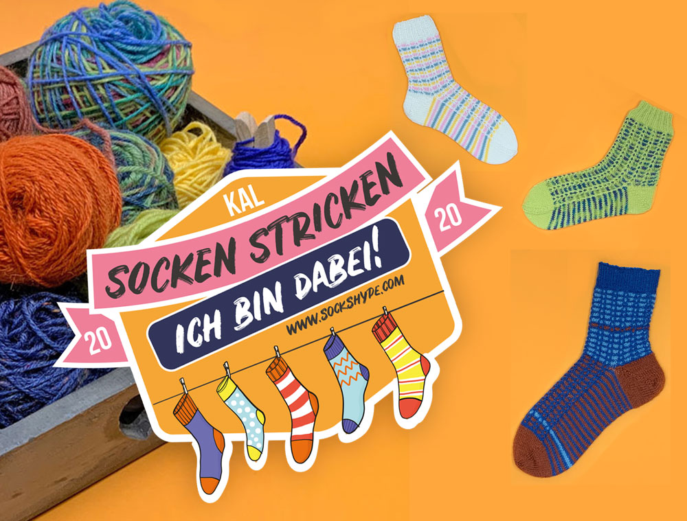 Gemeinsam Sockenstricken Beim Kal 2020 Sockshype Com