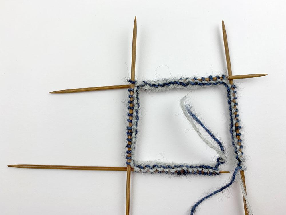 Der Knoten wird nicht mitgearbeitet.