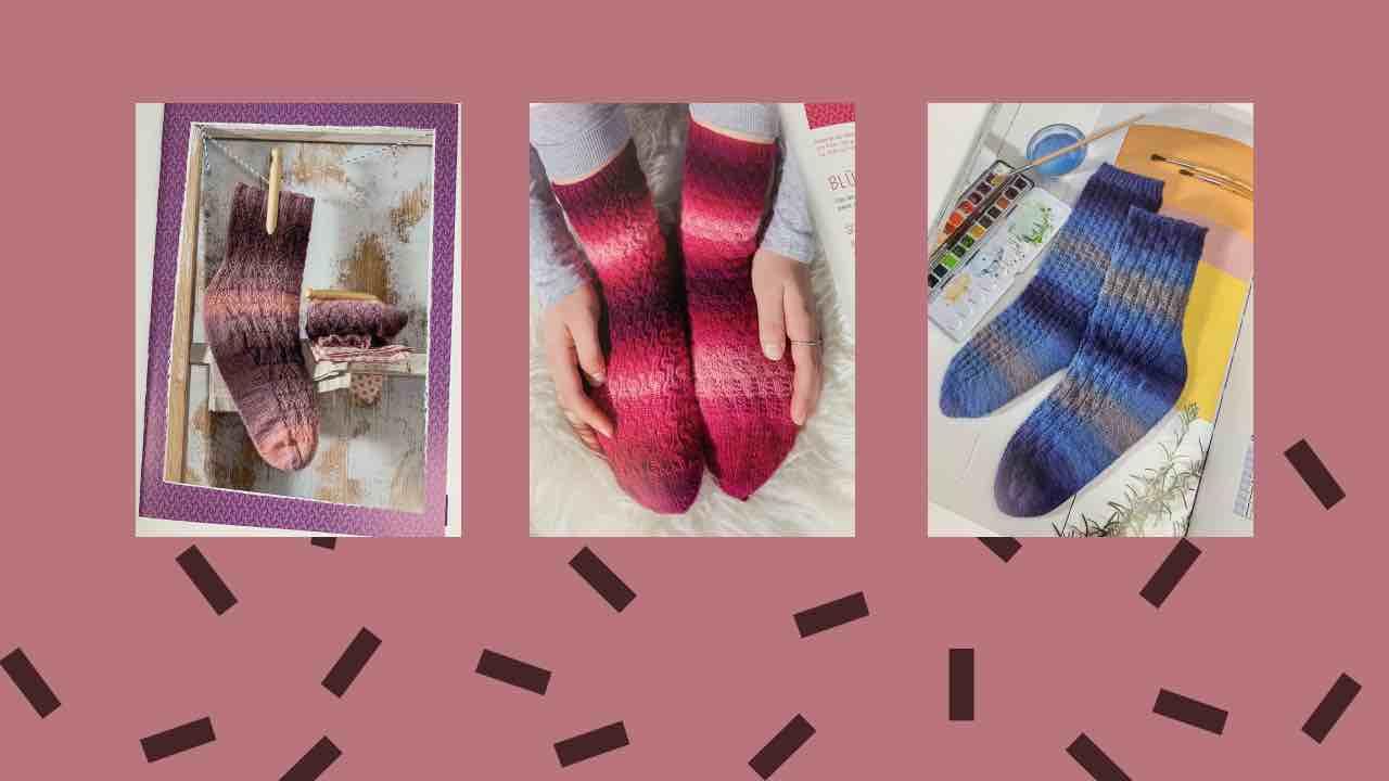 Veronika Hug - Socken aus dem Buch