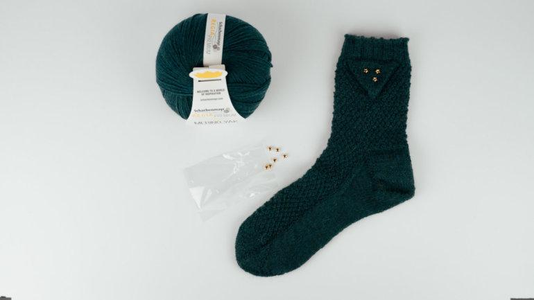 Socke Alice stricken