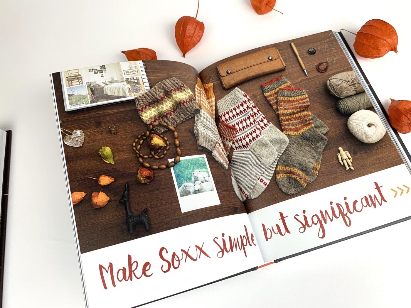 ein Kapitel im Buch SoxxLook beginnt mit einem Moonboard