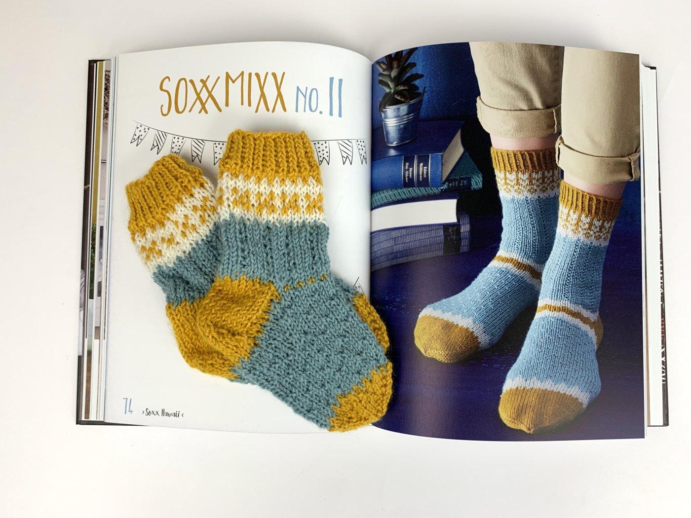 SoxxMixx - Ein Sockenpaar nach dem Muster von Soxx Nr.11