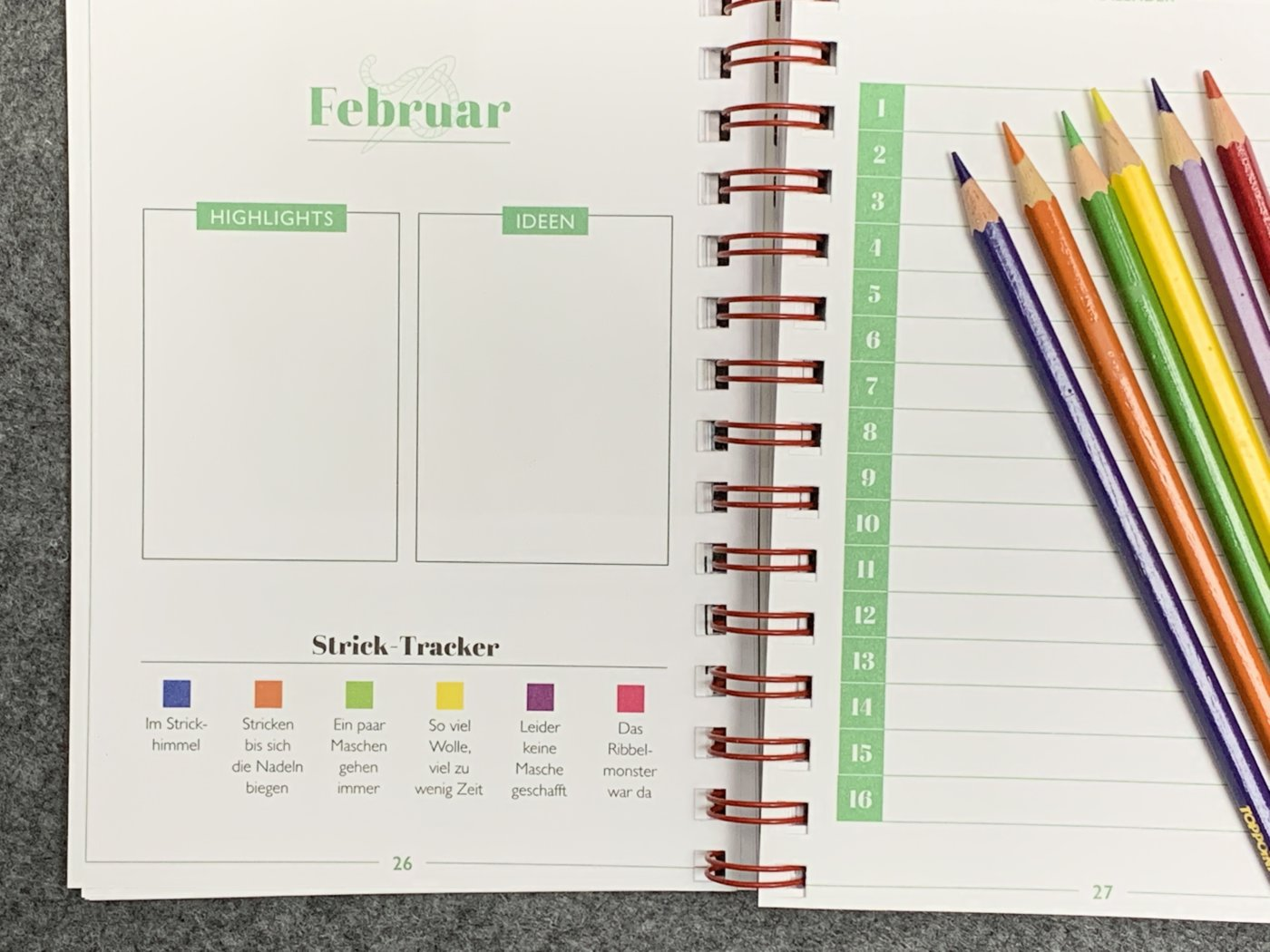 Mein ARD Buffet Strickbuch to go - Der Kalender