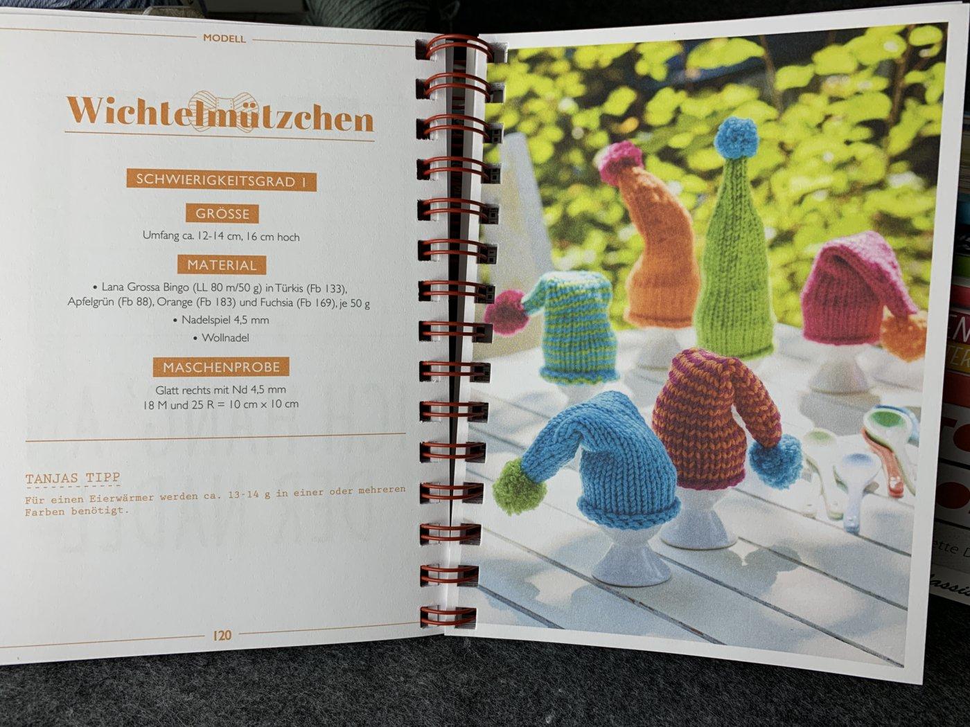 Mein ARD Buffet Strickbuch to go Wichtelmützchen
