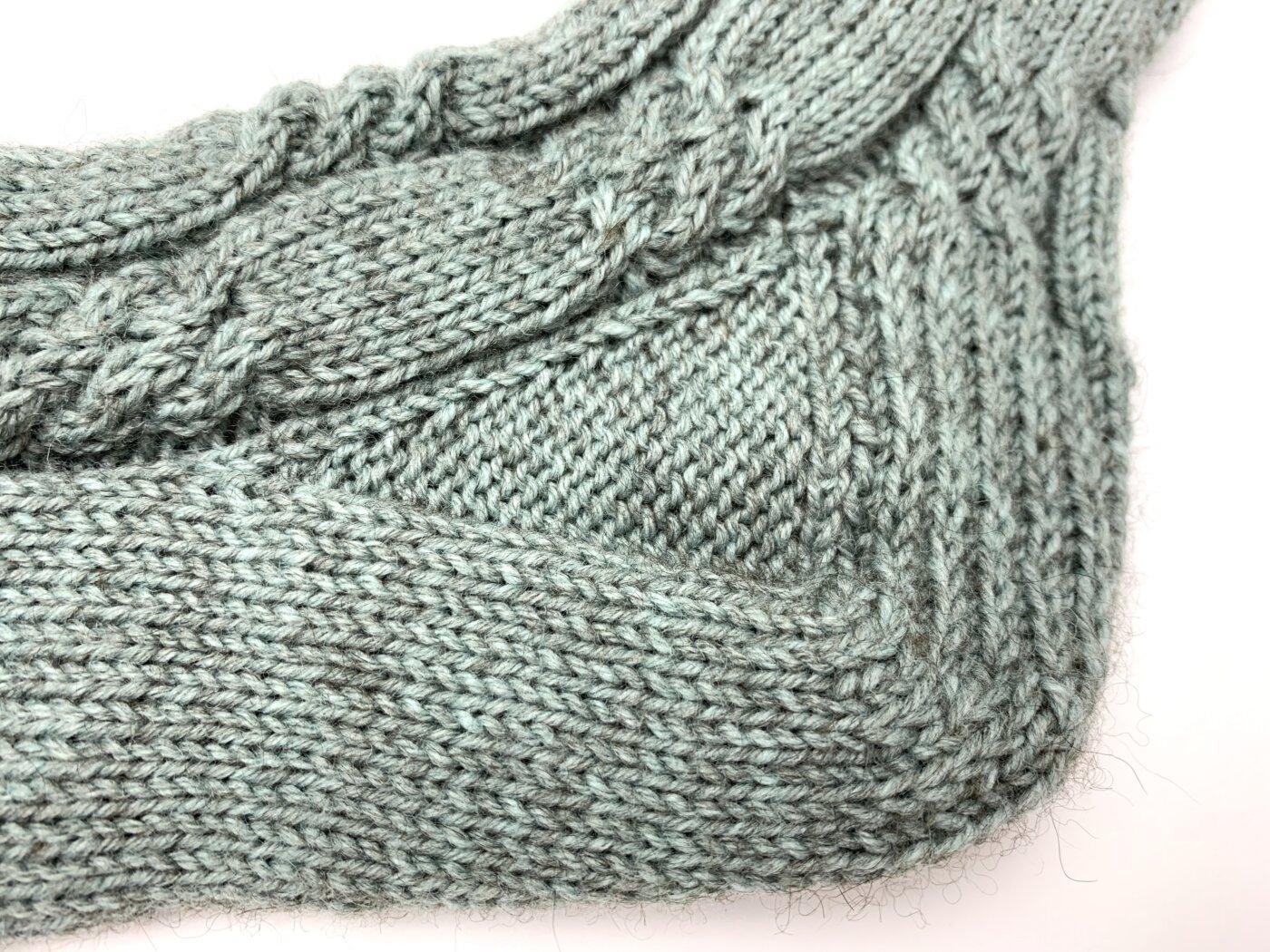 Toe Up Socken stricken - Die Ferse der LovisSocks