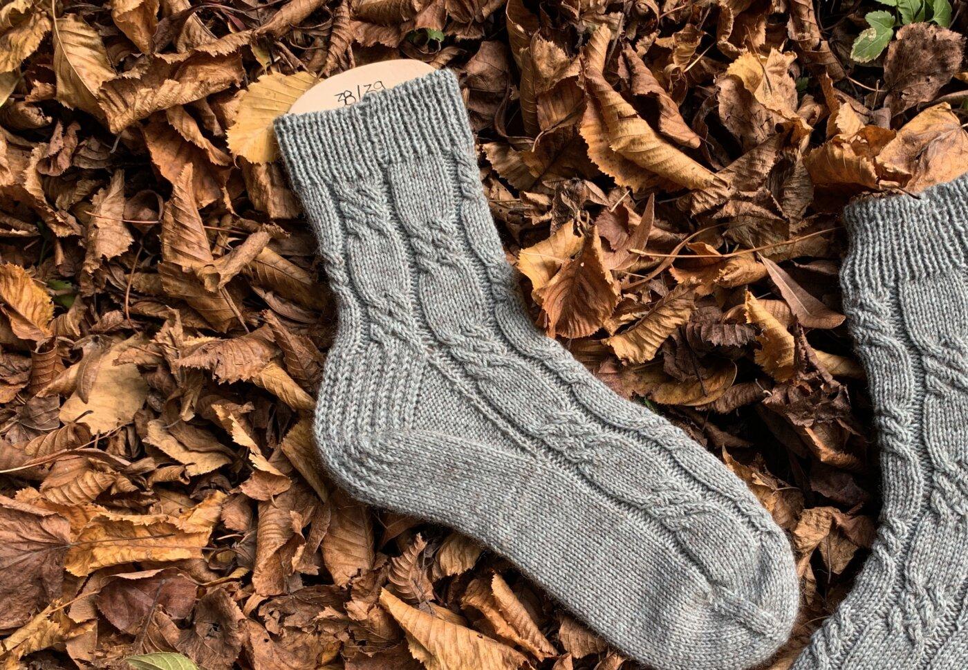 LovisSocks Toe Up Socken stricken