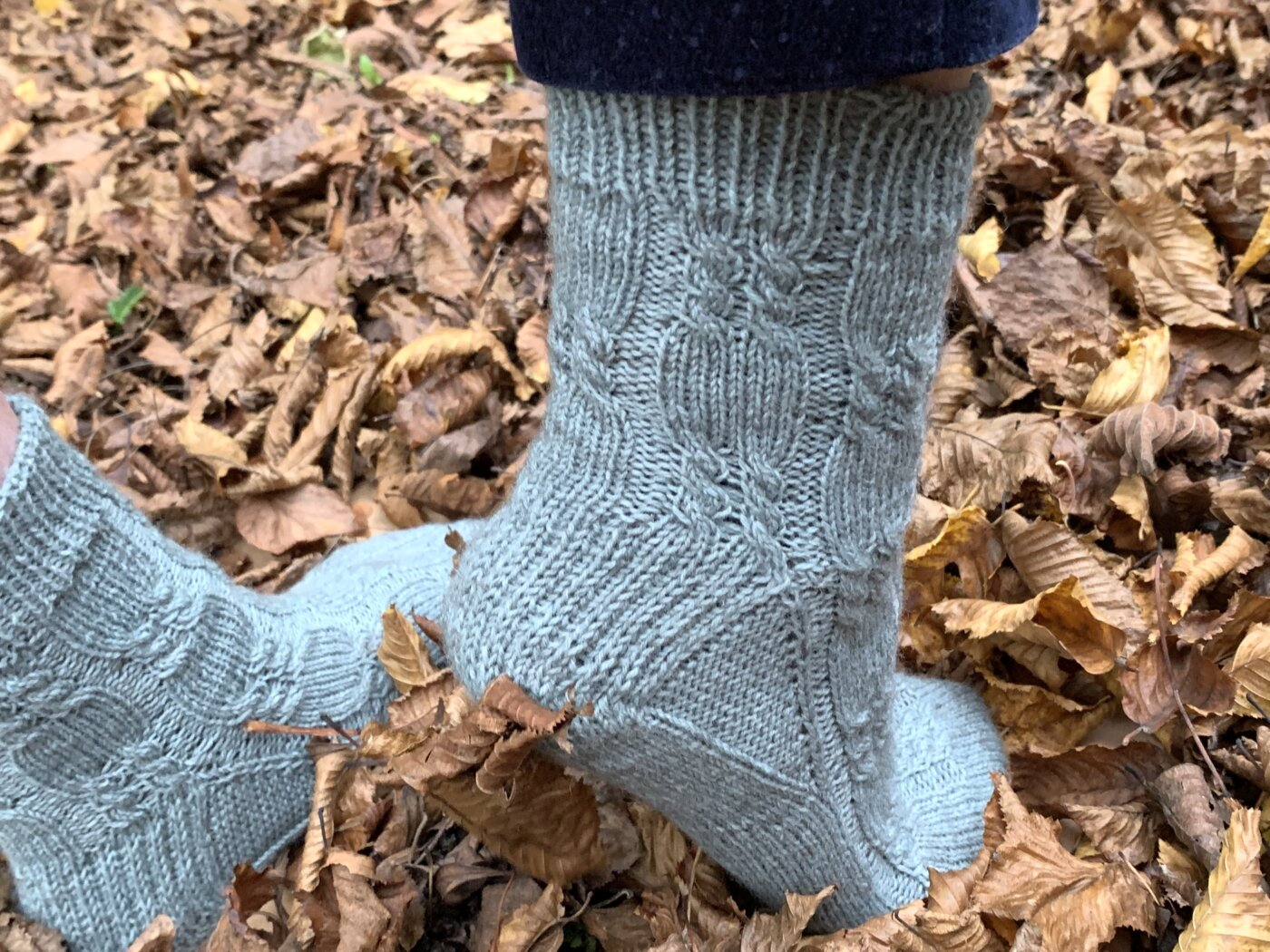 LovisSocks, Toe Up Socken stricken beim Sockenstricken KAL