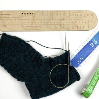 Über das Ausmessen von Socken
