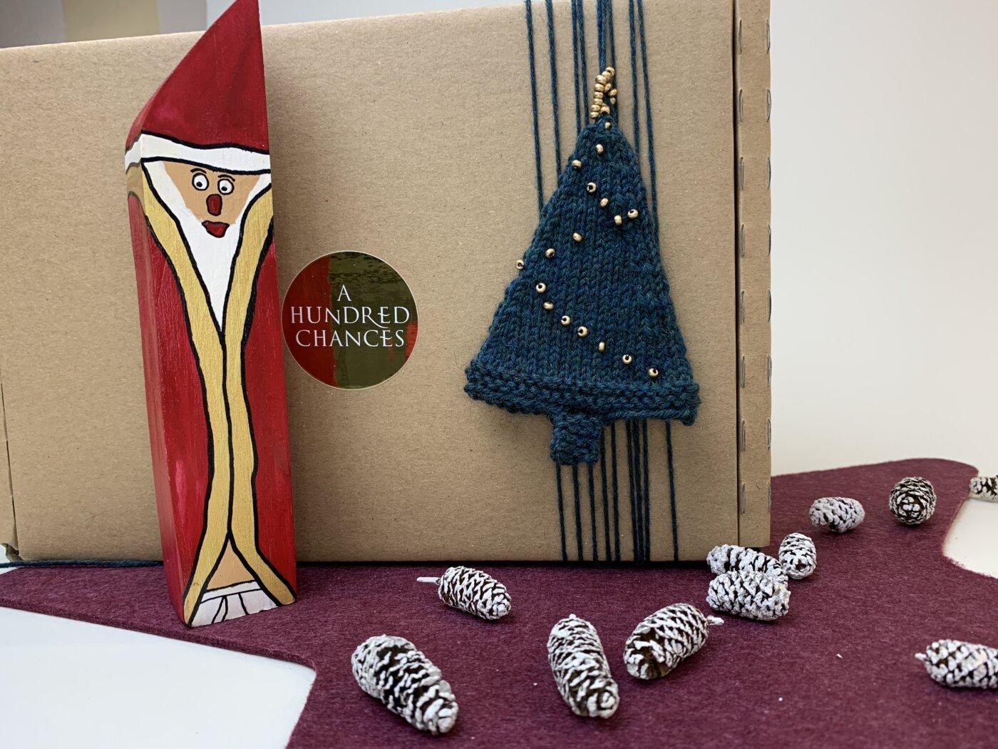 Baumanhänger für Geschenkbox