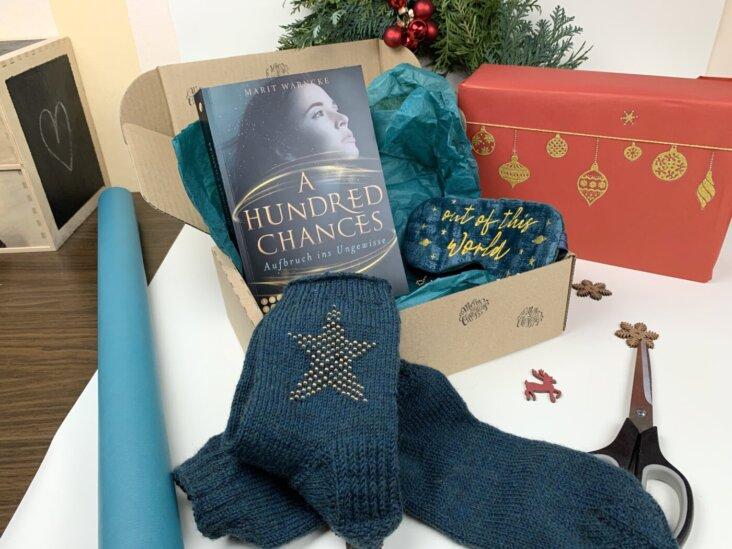 Geschenk verpacken - Geschenkbox