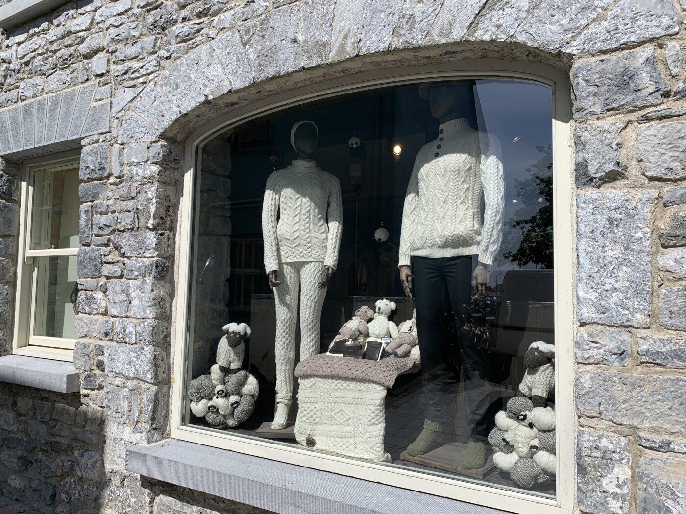 Zopfmusterpullover in Irland