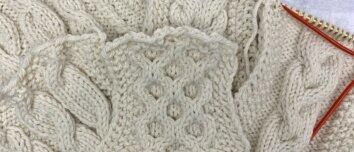 Stricktipp - Zopfmuster stricken - Titelbild