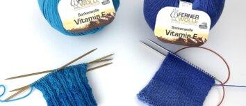 Ferner Sockenwolle mit Vitamin E
