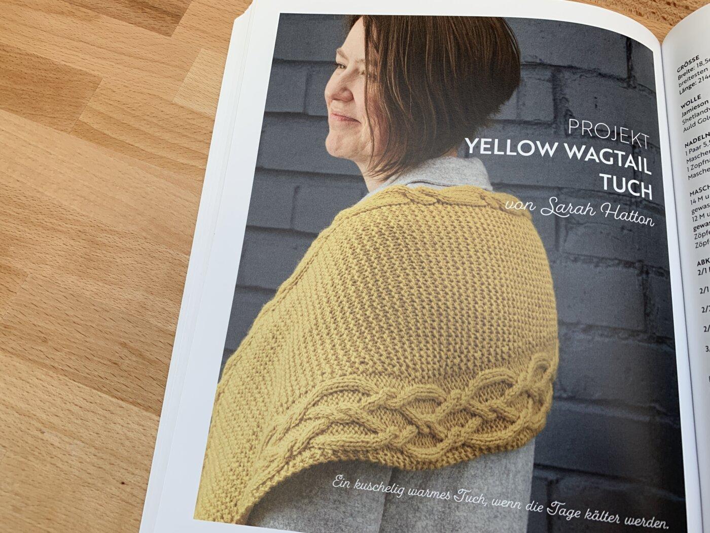 Das Yellow Wagtail Tuch Im Buch Masterclass