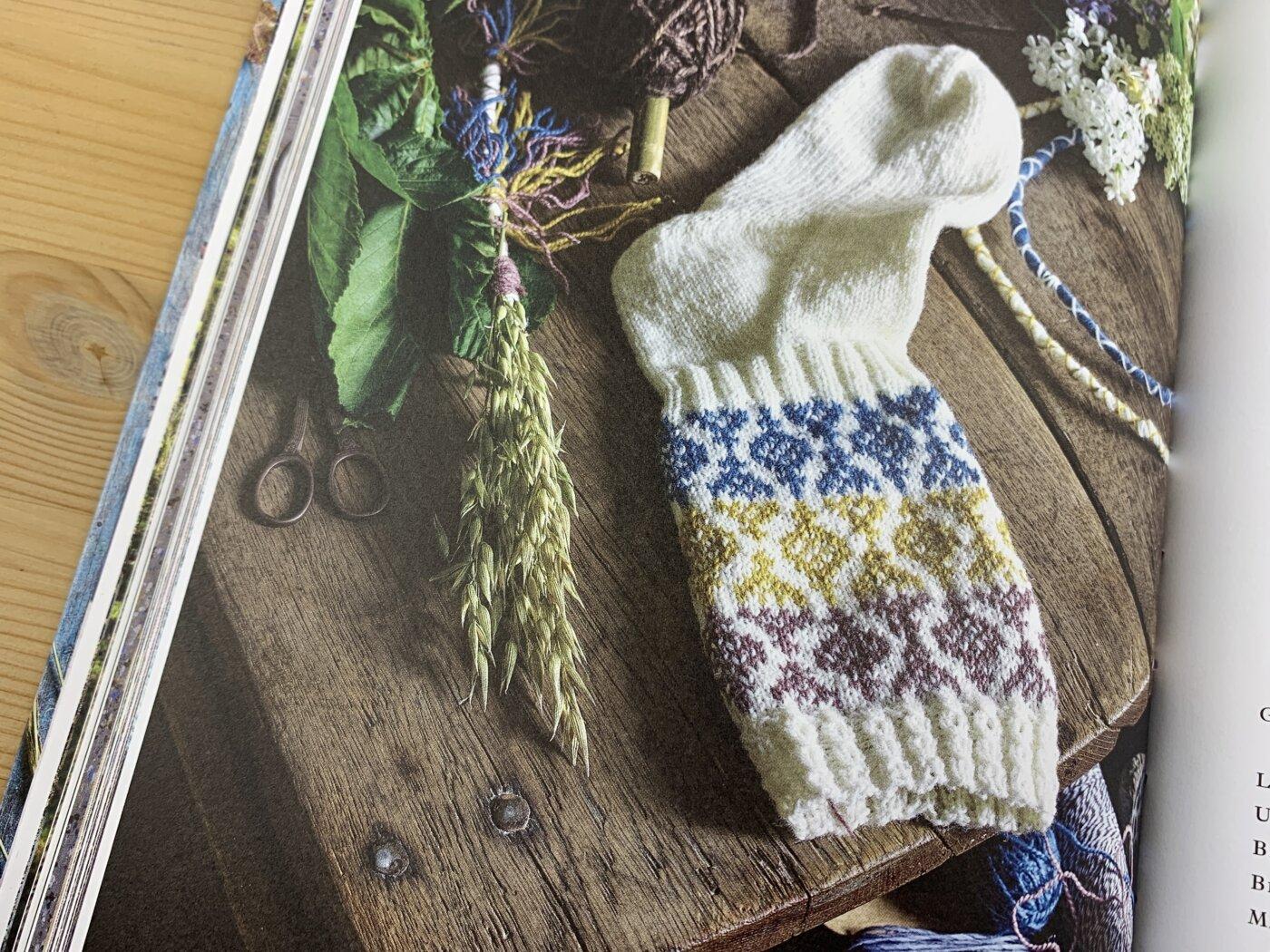 Buch Schwedische Socken stricken