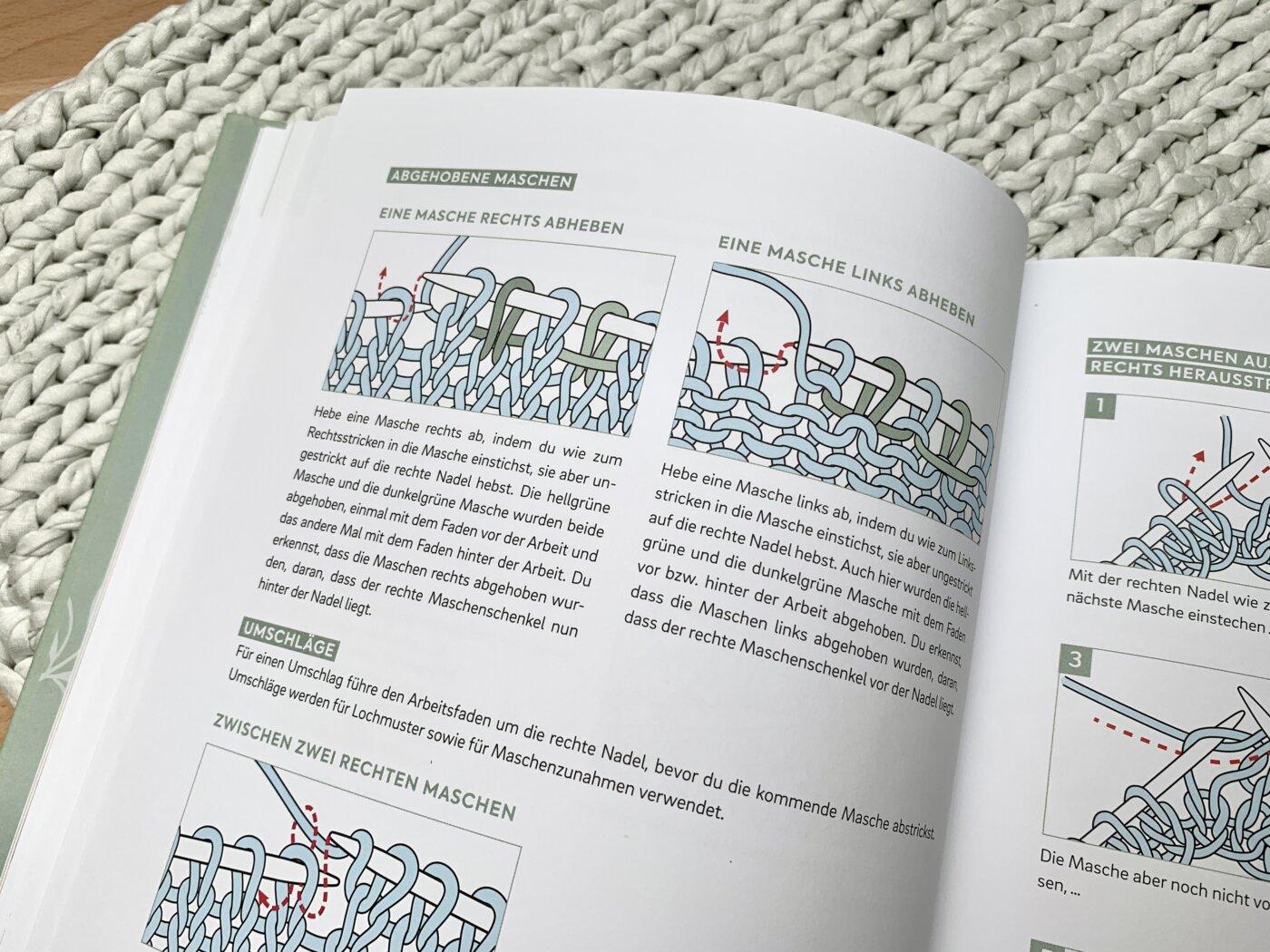 Strick-Basics im Buch Einfach nachhaltig stricken