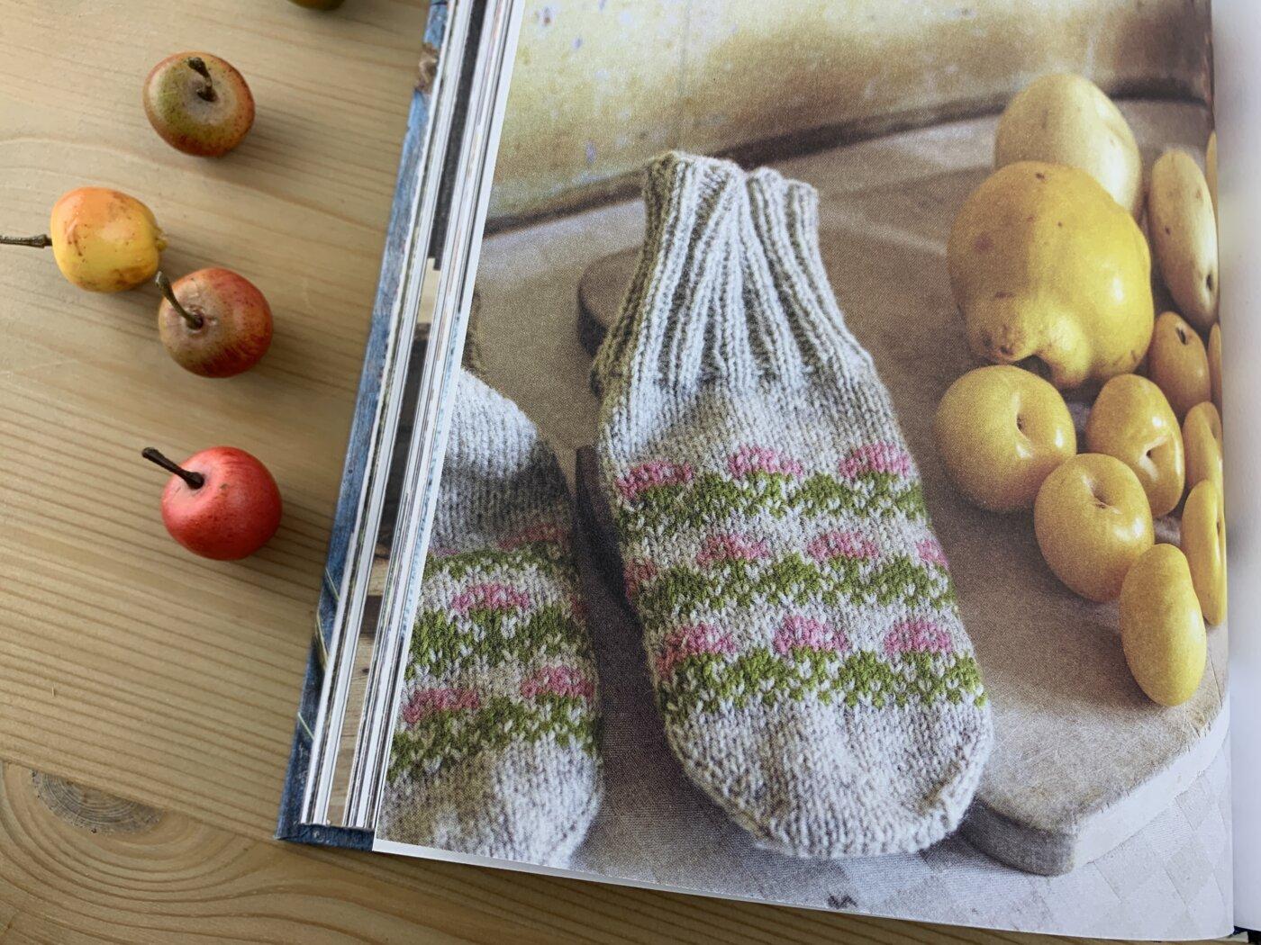 Mårbacka - die Socken, die an die Geranien von Selma Lagerlöf erinnern