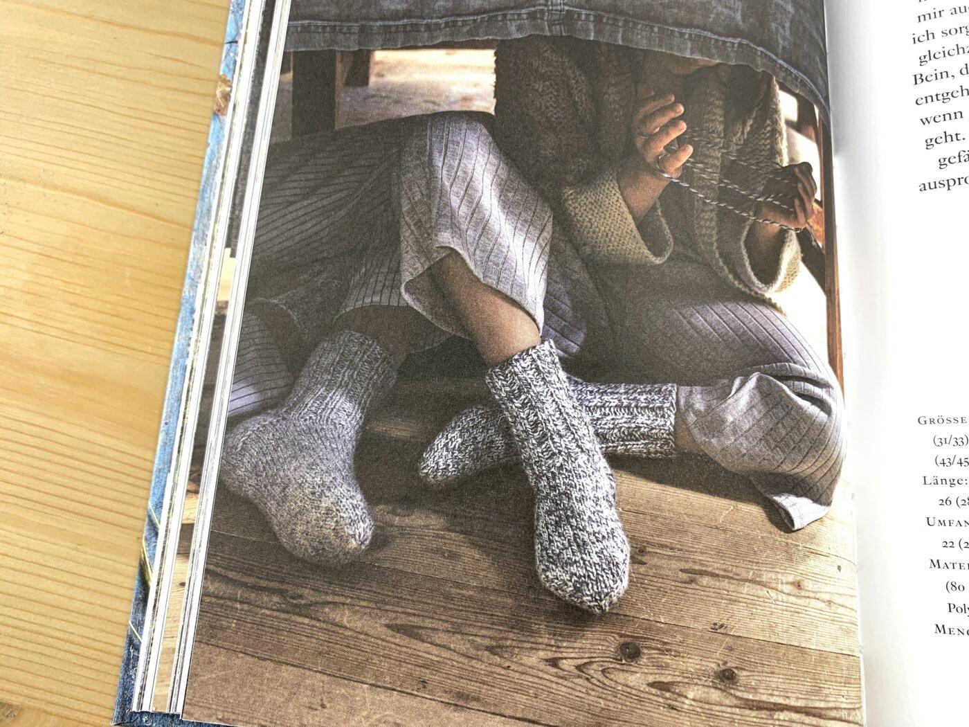 Omas Strümpfe im Buch Schwedische Socken stricken